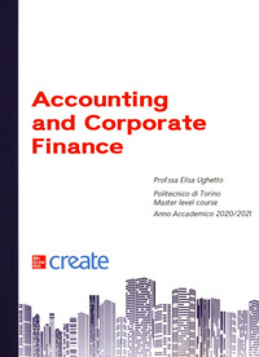 Accounting and corporate finance
