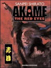 Akame. The red eyes