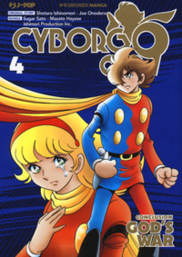 Cyborg 009. Conclusion. God's war. 4.