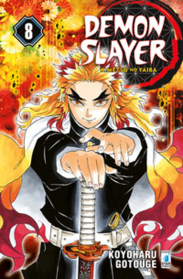 Demon slayer. Kimetsu no yaiba. 8.
