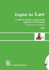 English for law. A toolkit for discourse and genre-based approaches to ESP language
