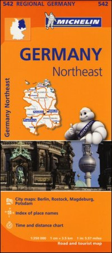 Germany Northeast 1:350.000