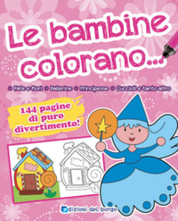 Le bambine colorano...