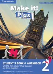 Make it! Plus level 2. Student s book-Workbook. Per la Scuola media. Con DVD-ROM. Con e-book. Con espansione online