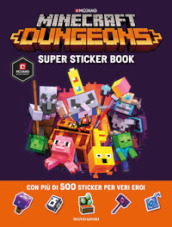 Minecraft Dungeons. Super sticker book