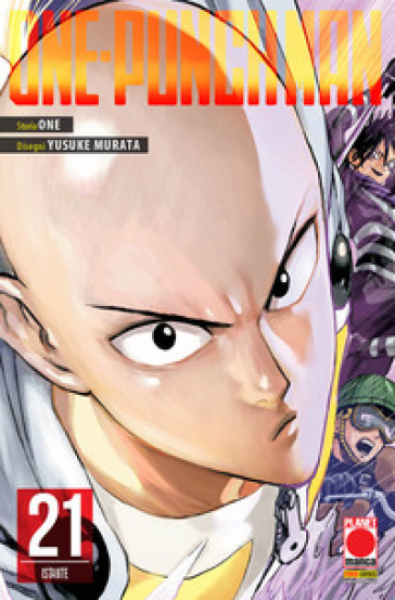 One-Punch Man. 21: Istante