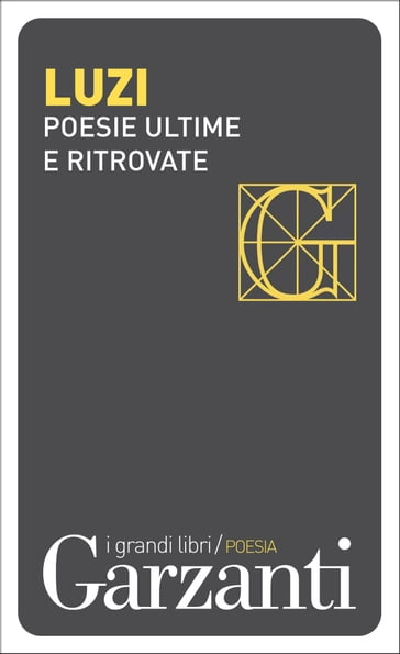 Poesie ultime e ritrovate