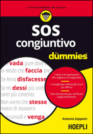 SOS congiuntivo For Dummies