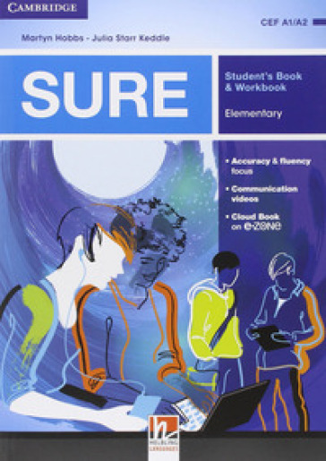 Sure. Elementary. Multimedia Pack. Student's book-Workbook. Per le Scuole superiori. Con e-book. Con espansione online