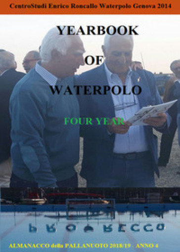 Yearbook of waterpolo. Ediz. italiana. 4: 2018/2019